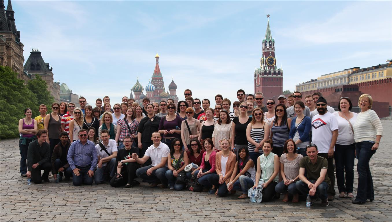 One of our Group Tours to Moscow's Red Square